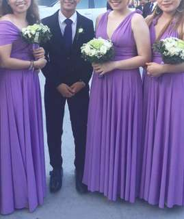Purple Infinity Dress Color of the Year
