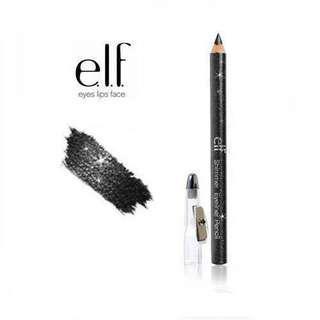 $10 Elf Shimmering Eyeliner Pencil Black Eyeliner 黑色眼線筆 美國大眾品牌 抵用性價比高