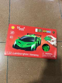 Shell 1:32 林寶堅尼 Lamborghini Veneno 3D puzzle