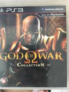 God of war collection PS3 Game