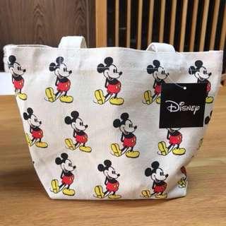 🚚 Disney Micky米奇手提帆布小袋
