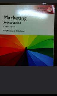 BN Marketing textbook by Philip Kotler (11th ed)