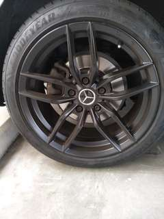17 inch tyres and Rims