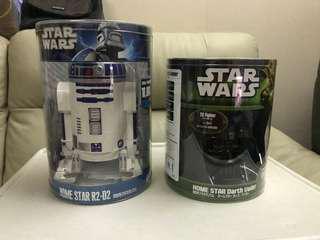 星球大戰 Star Wars home star darth Vader R2d2 星空投放器 黑武士