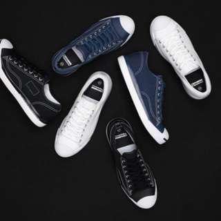Fragment x Converse jack Purcell navy blue size us6