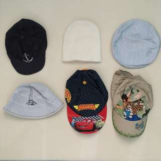 Preloved Baby Hats and Caps