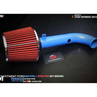 Ram Pipe for Perodua Myvi 1.0 660 850 Viva With Open Pod Air Filter KNN Package