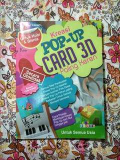 Buku Kreasi Pop-Up Card 3D