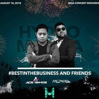 Hydro Manila 2018 - Regular tickets