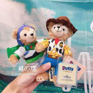 🚚 香港迪士尼 🇭🇰 達菲熊吊飾 巴斯光年 胡迪