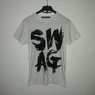 Folded and Hung Graphic T-SHIRT SWAG