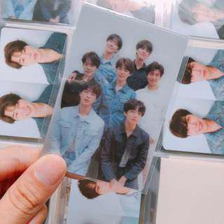 wts bts love yourself tear lenticular