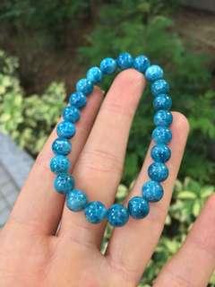 藍磷灰石手鍊
