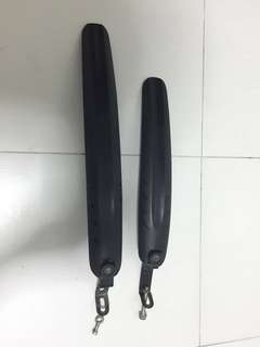Bicycle mudguards front and rear (20 inch)