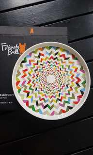 French Bull Ziggly Plate - 2 designs