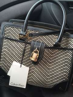 Calvin klein bag with tag price