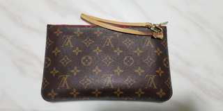 Authentic Louis Vuitton Monogram Neverfull Pouch