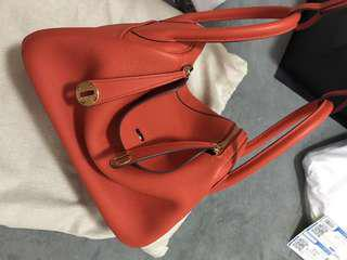 Hermes lindy with warranty
