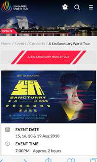 WTB jj lin 16 Aug 2018 thursday concert