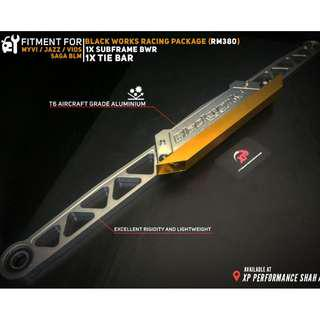 Subframe Black Works Racing BWR For Perodua Myvi Jazz Vios BLM