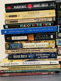 Pre-loved books! (100 pesos each! )