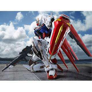 Bandai METAL BUILD Aile Strike Gundam