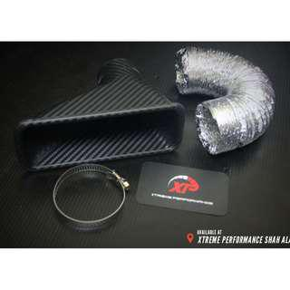 Billion Air Funnel Carbon Fiber Cold Air Intake Square Universal Fit