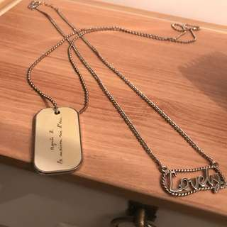 Two for $40! Necklace Agnes.b