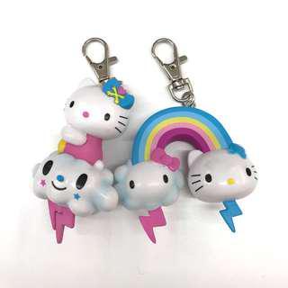 Hello Kitty 鎖匙扣 / 掛飾 (二手)新舊如圖 (不散賣)