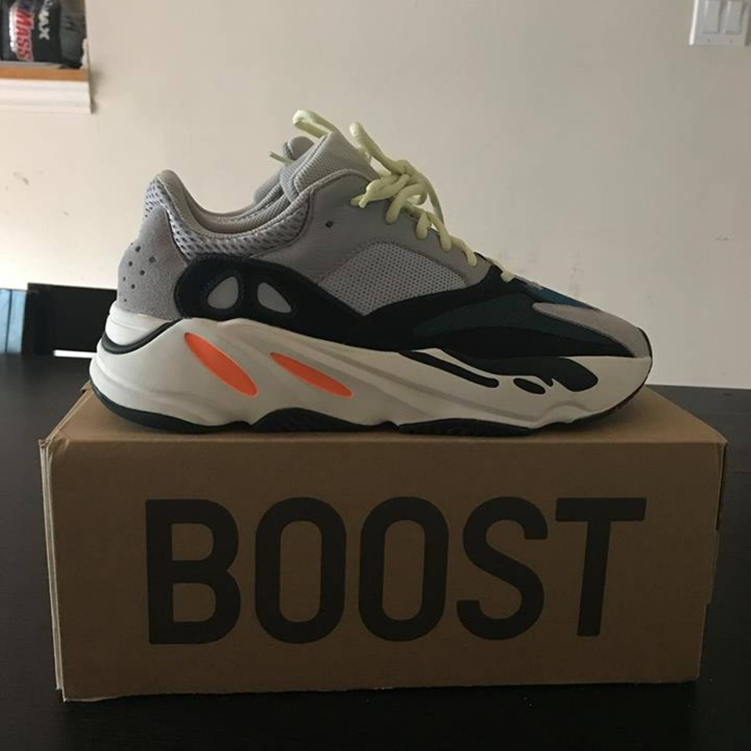 771c4470785dc 50 OFF) Adidas Yeezy Wave Runner 700 Solid Grey
