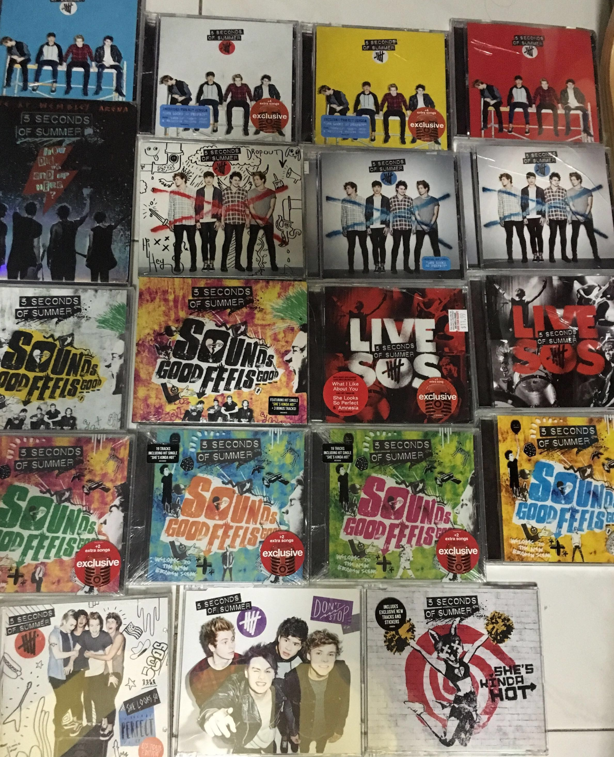 5SOS CDs, Music & Media, CDs, DVDs & Other Media on Carousell