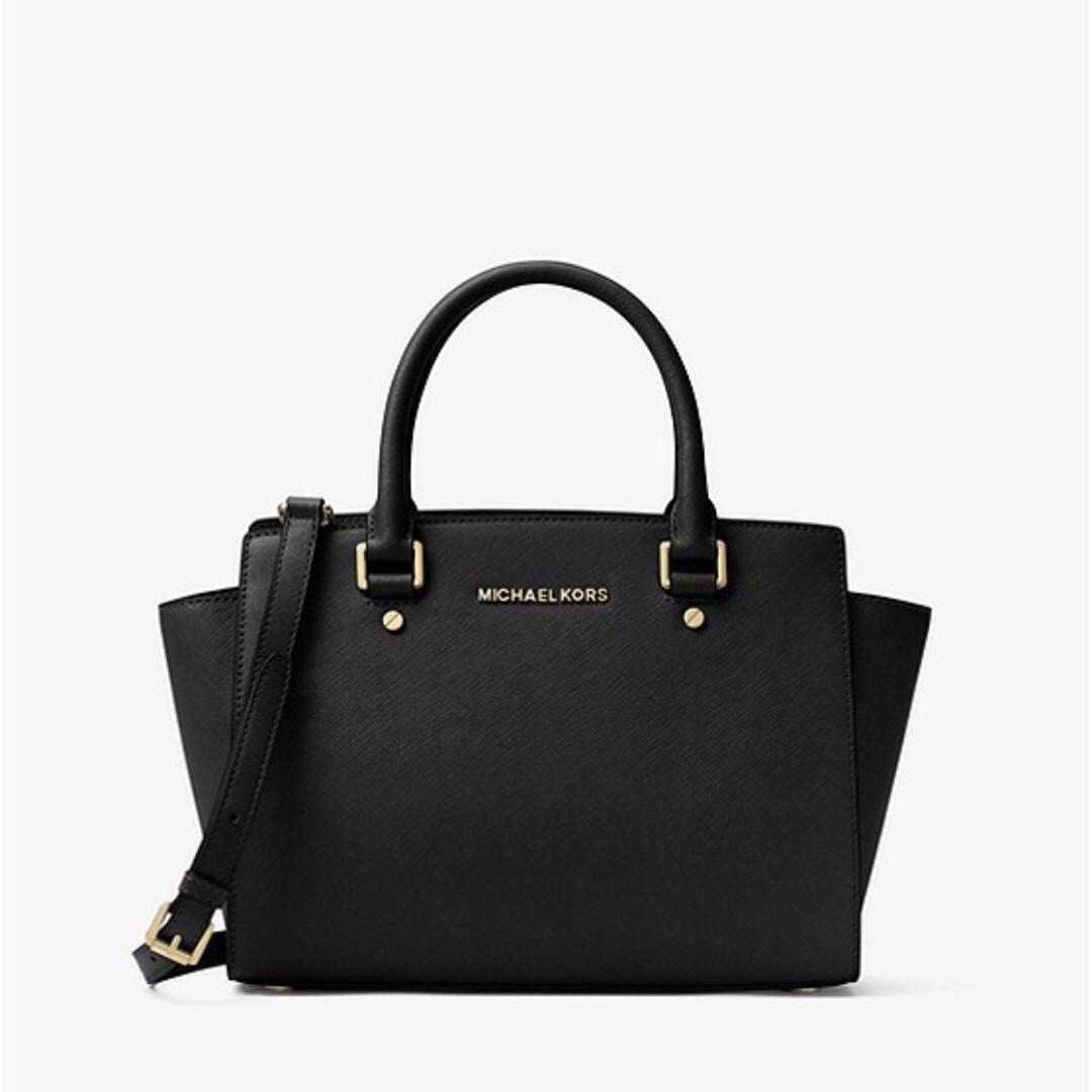 ad38bee799dd ... discount code for time sales michael kors selma saffiano leather medium  satchel d5fc0 8f43e