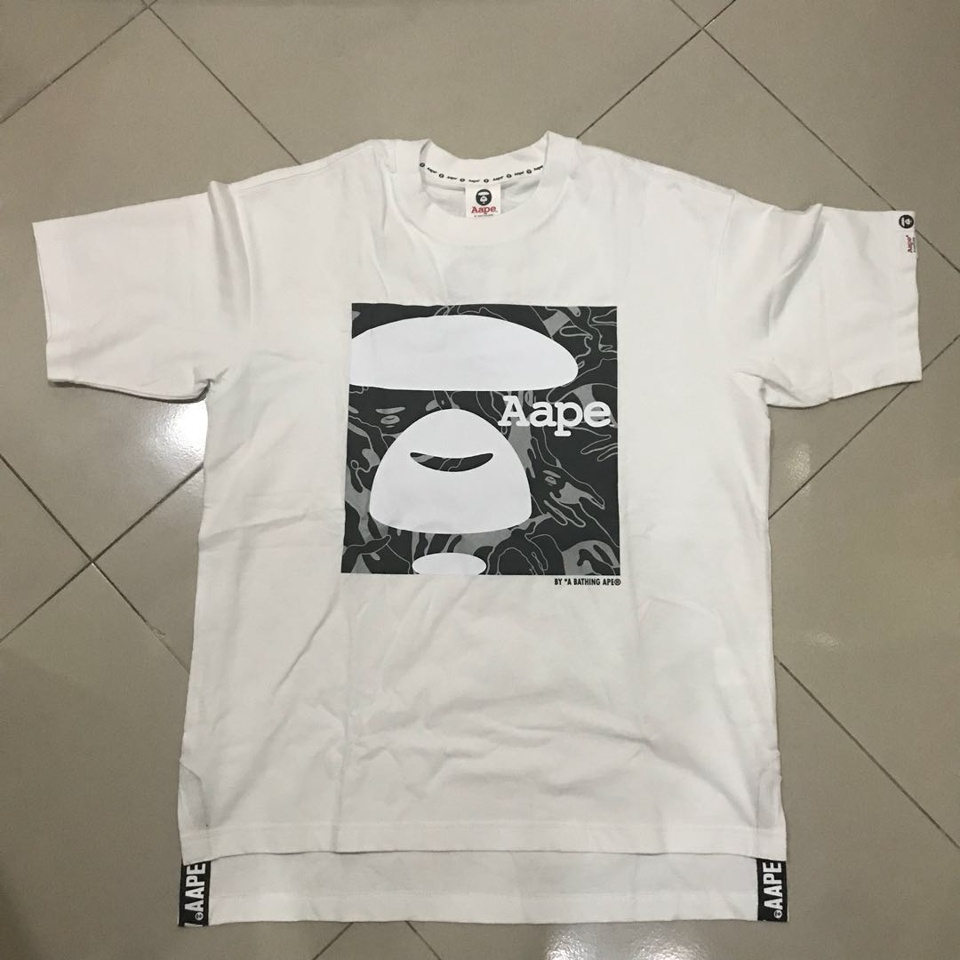 14ec6b26 Aape Tee 2018 Design, Men's Fashion, Clothes, Tops on Carousell