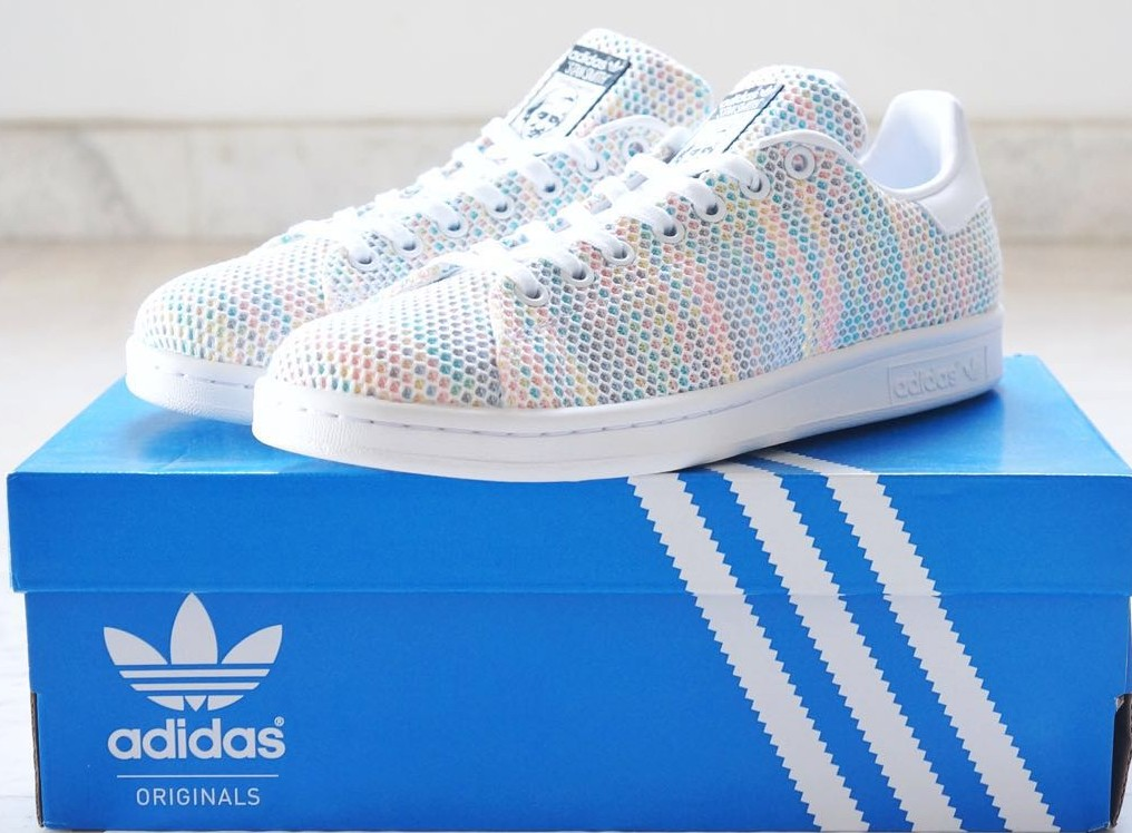 49398155a01 Adidas Stan Smith Mesh Shoes S82250 Adidas Sneakers Adidas Rainbow ...