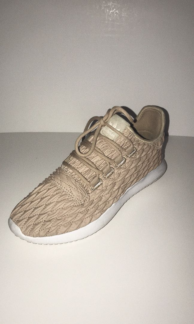 size 40 62d43 f16a7 Adidas Tubular Shadow Quilted in Beige
