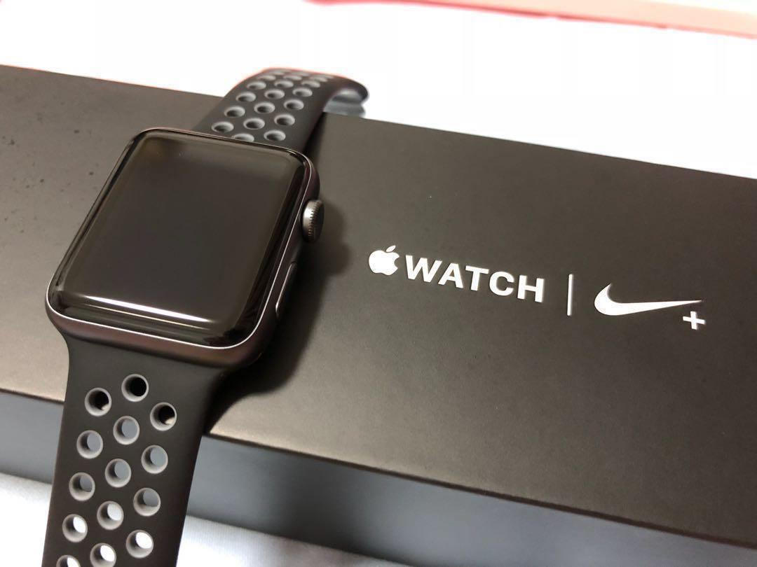 13115da9474753 Apple Watch Nike+ Series 2 42mm Space Gray Aluminum Case ...