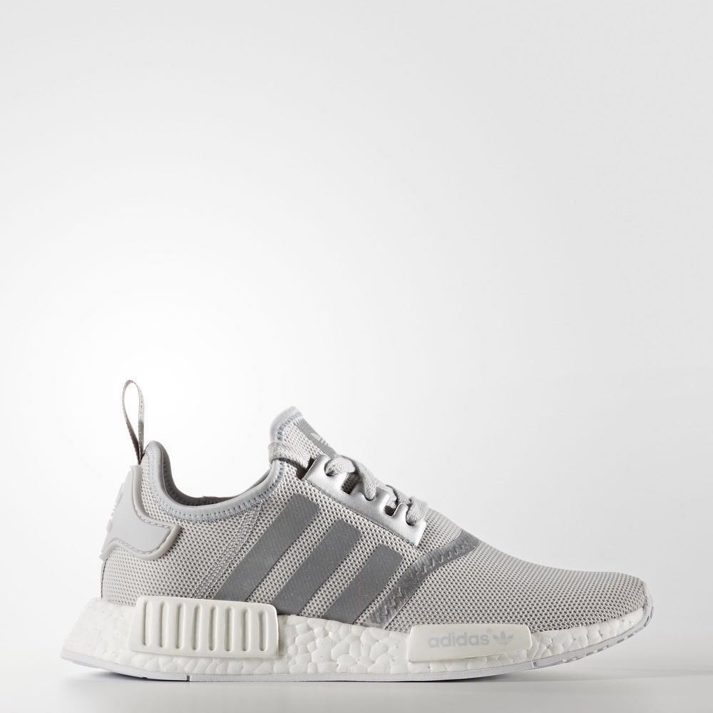 cce51bcd337ab authentic adidas nmd matte silver