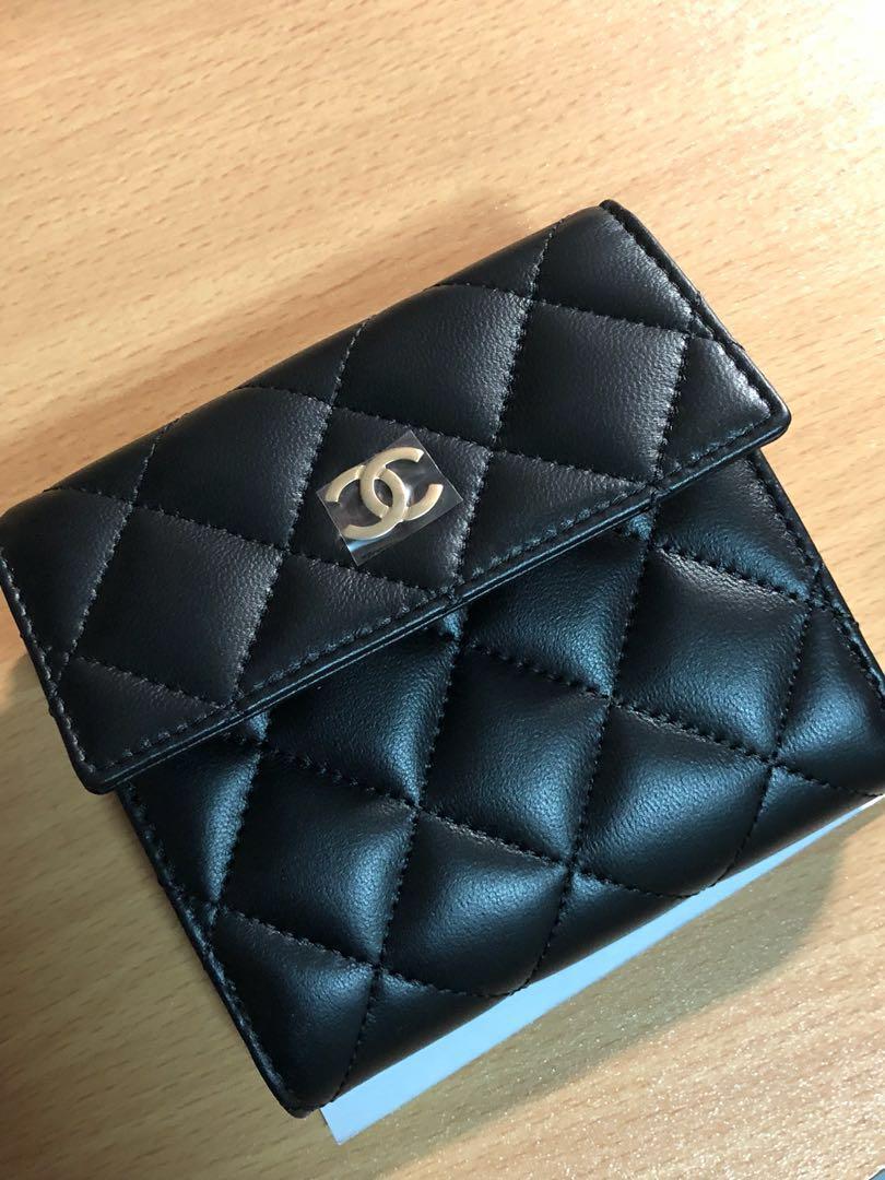 2ed08d0dd19d9f Chanel Wallet, Luxury, Bags & Wallets, Wallets on Carousell