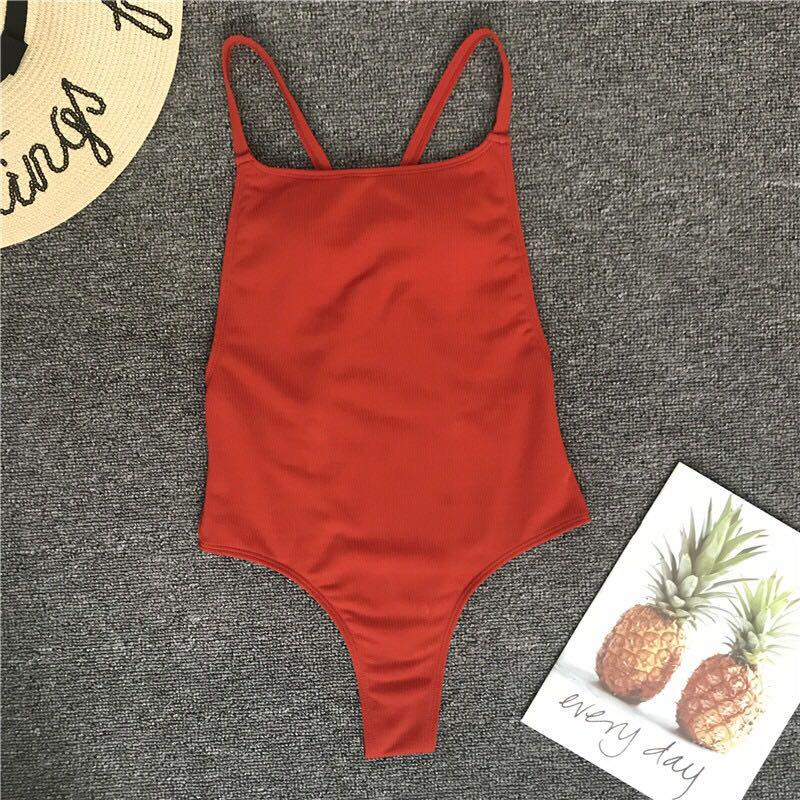 Backless Swimsuit - Onepiece