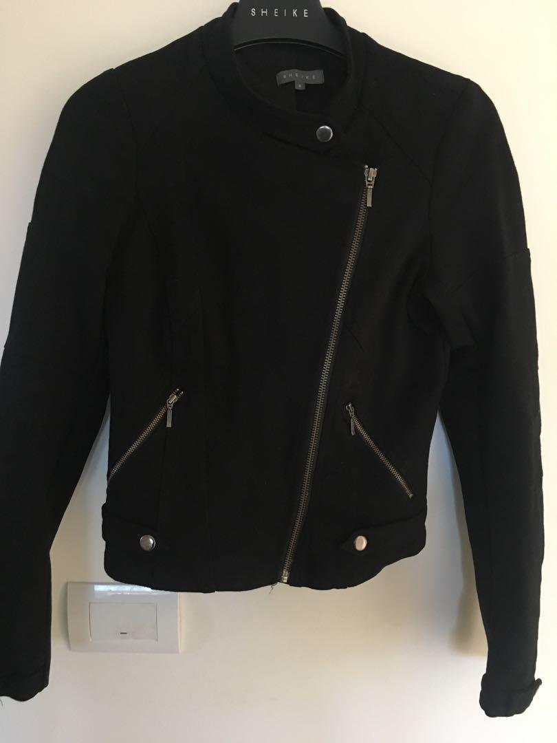 Black ponti Sheike jacket