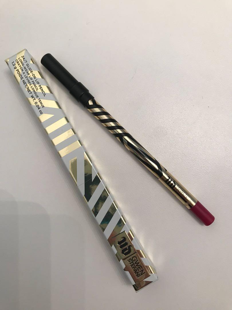 BNIB Urban Decay x Gwen Stefani Glide-On Lip Pencil in Firebird