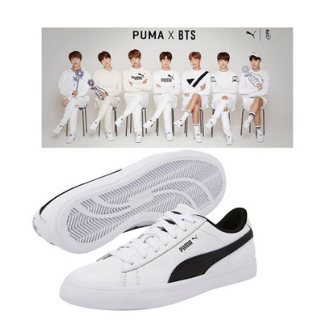 b88e444aa23 BTS Official Goods - PUMA X BTS COURT STAR Shoes + Photo Card BANGTAN BOYS  Sneakers. BTS sneakers.