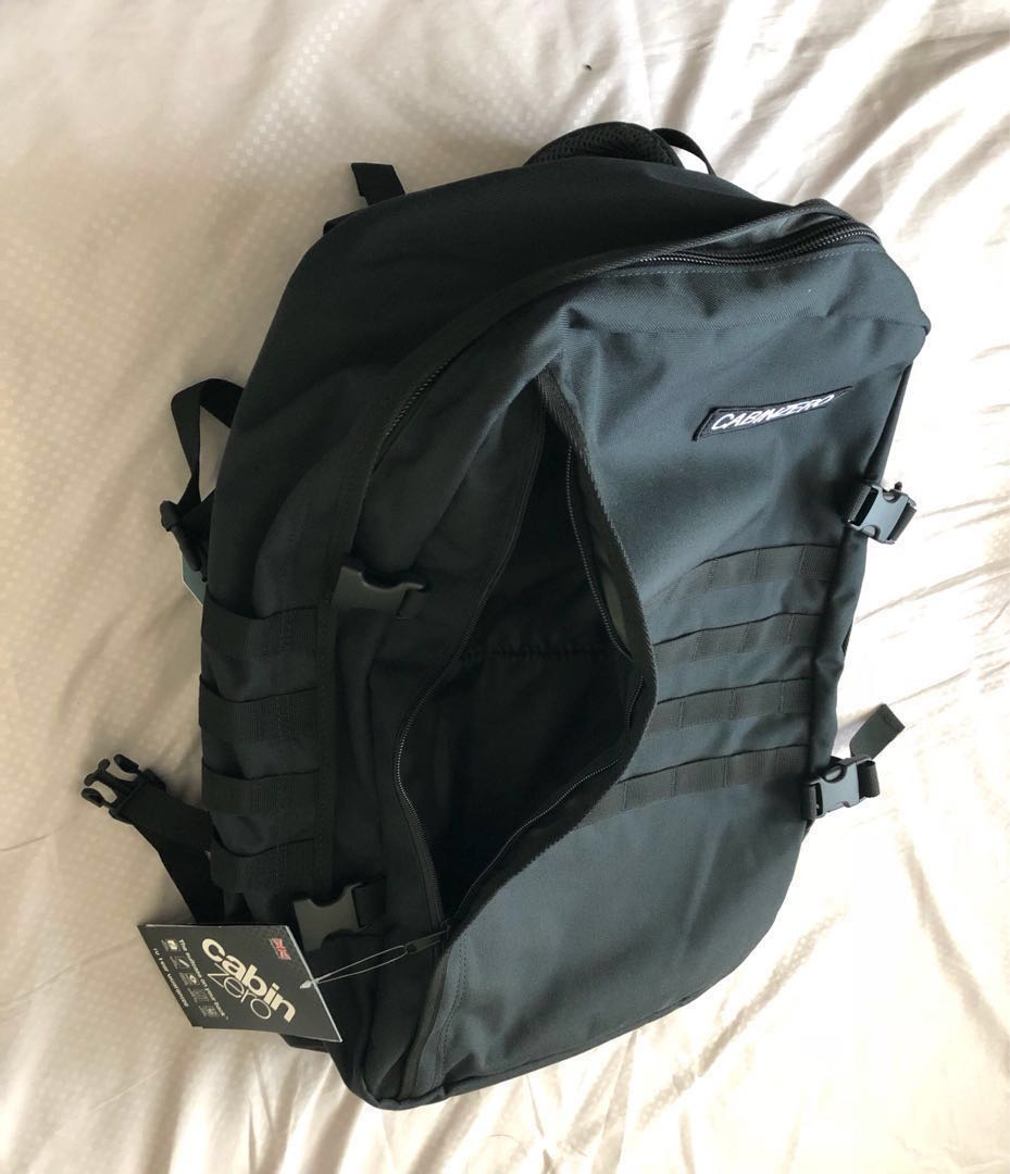 authentic low price online retailer Cabinzero 44L Military Black Backpack from UK
