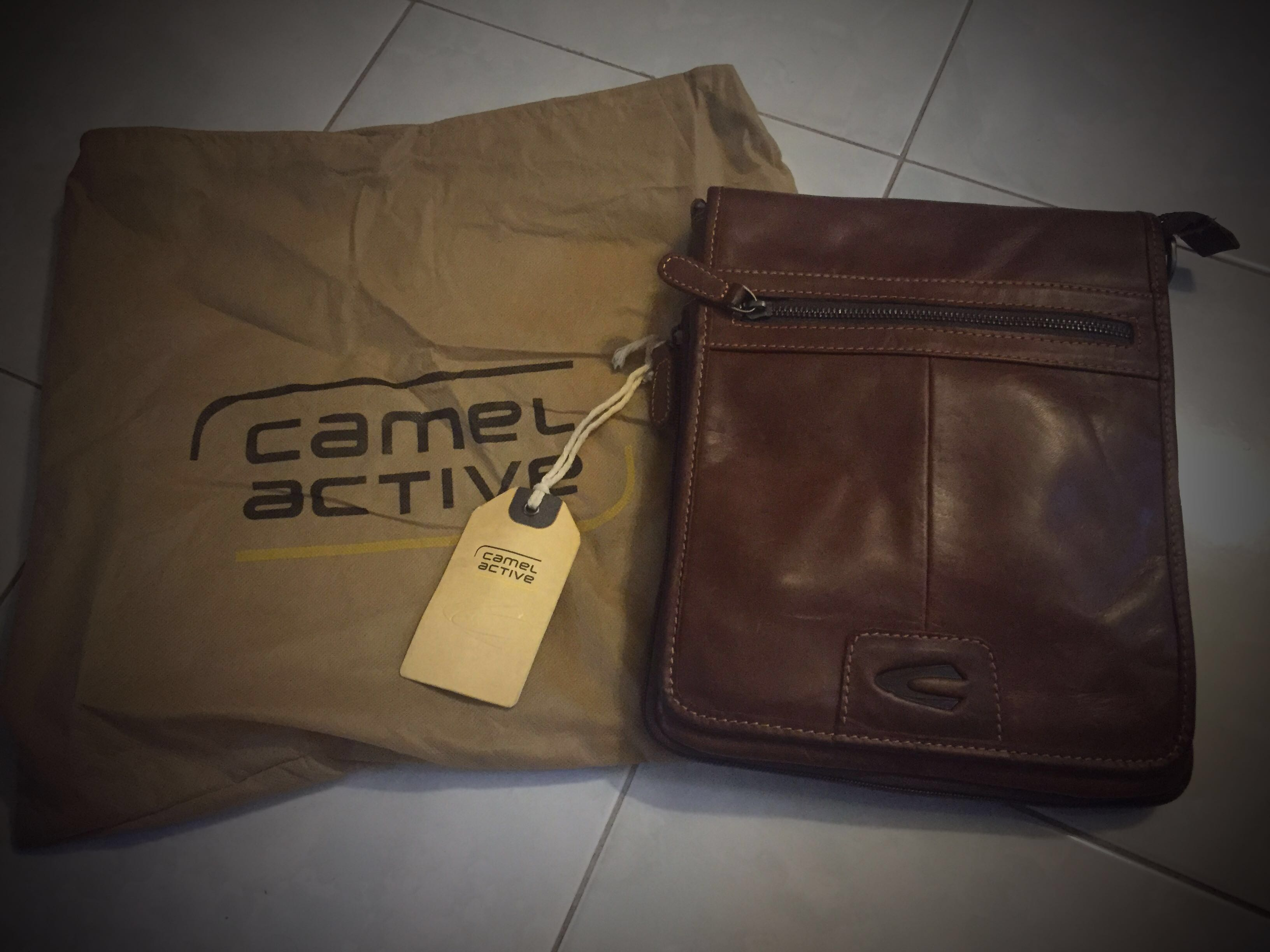 Camel active leather sling bag 1cc3d026f9