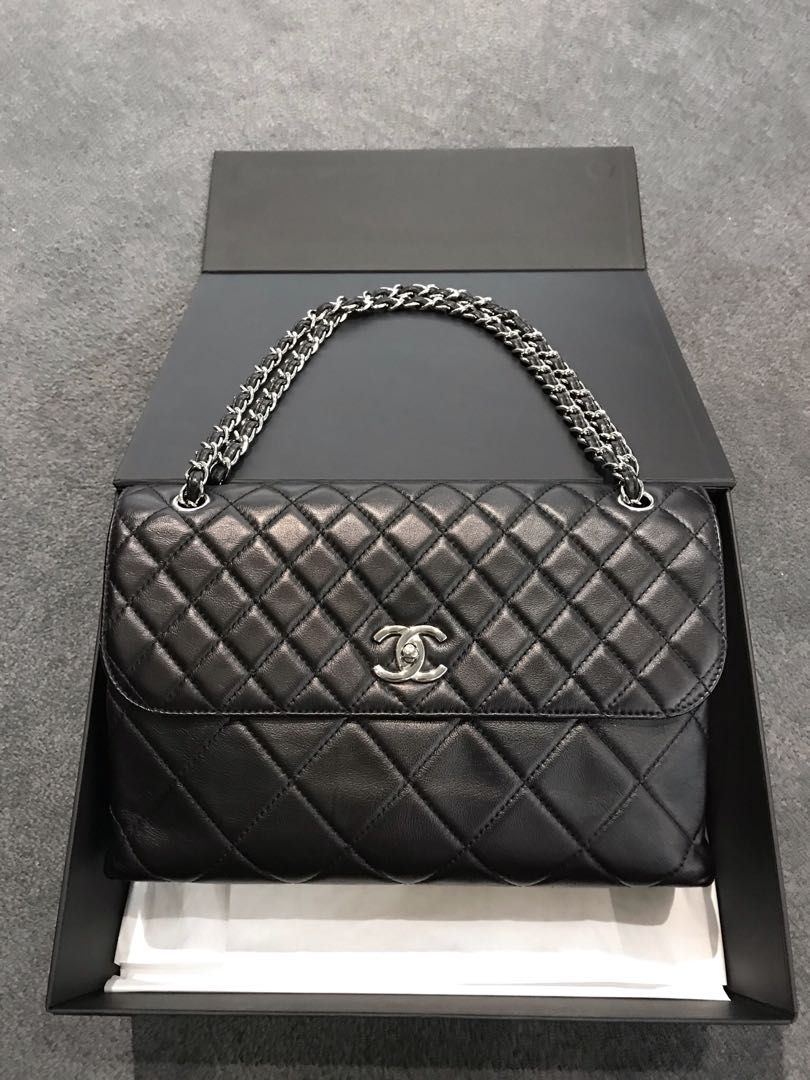 87ed28c028490e Chanel Business Flap, Luxury, Bags & Wallets, Handbags on Carousell