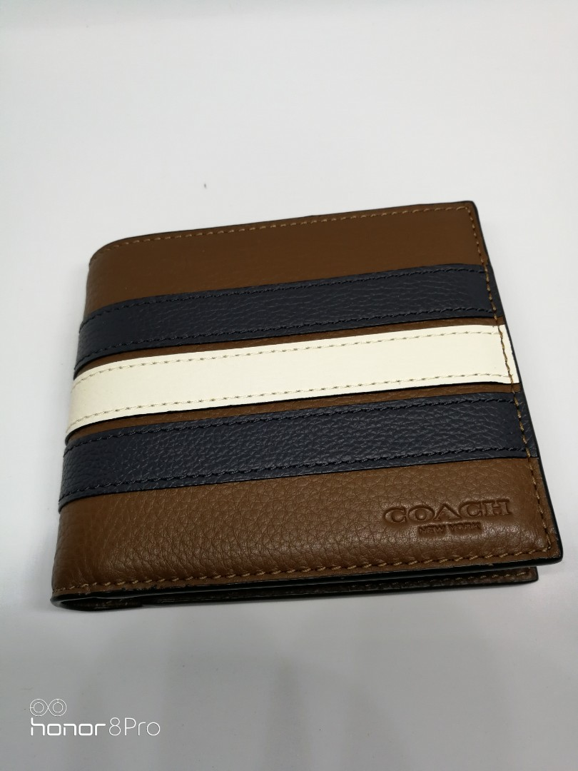 4a7a4e63eafb 🇺🇸Coach wallet ~ F24649 IN-1 WALLET WITH VARSITY STRIPE COACH ...