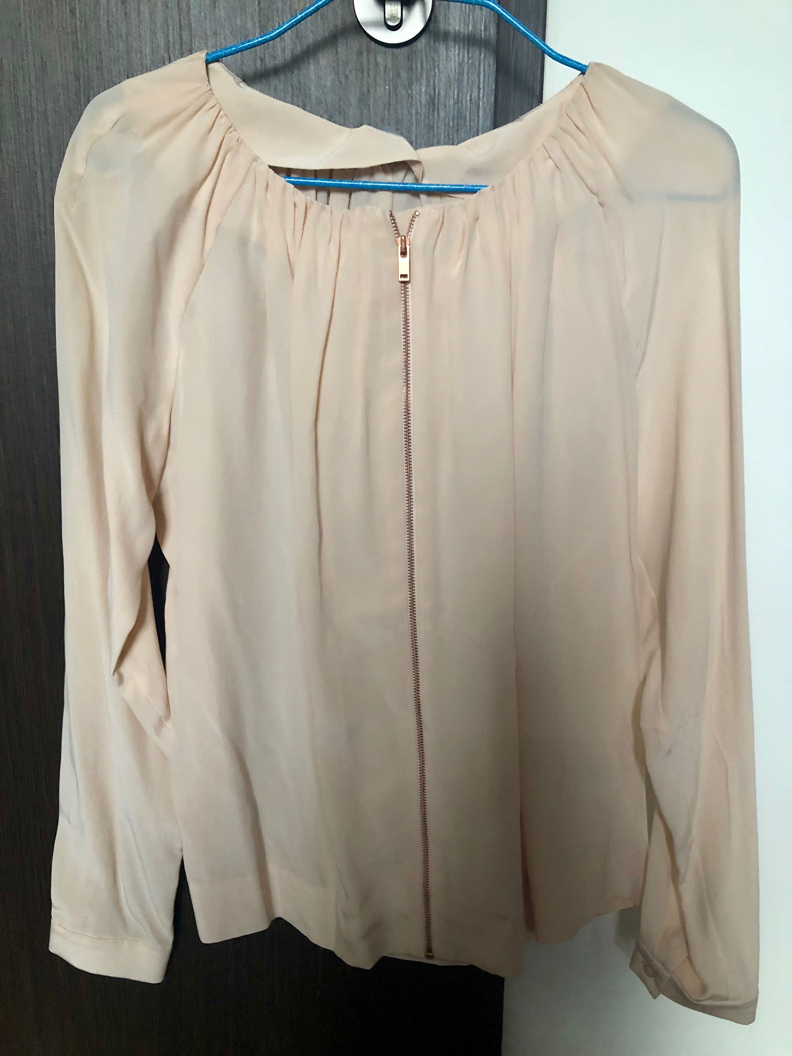 463ada46cada92 COS silk blouse brand new with tags