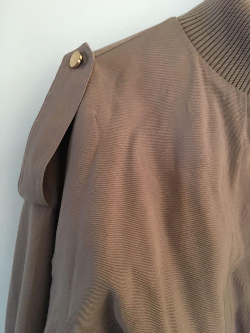Dusty pink jacket sheike
