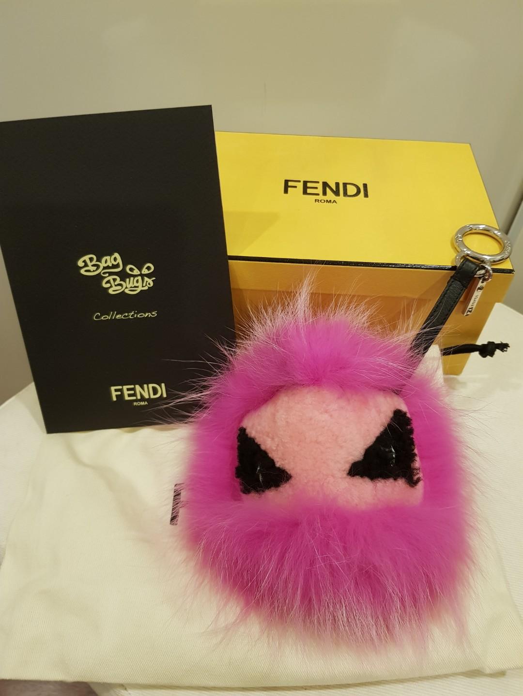 afe5c627c9 Fendi fur key  bag charm