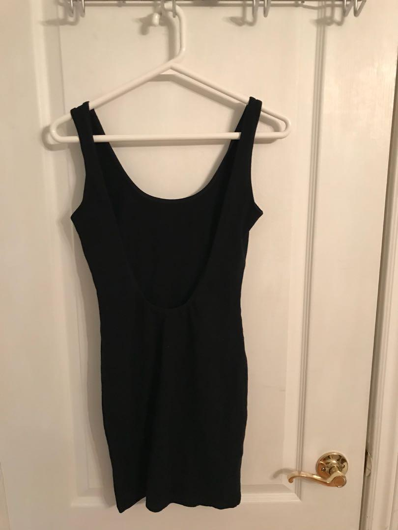 FOREVER 21 open back dress